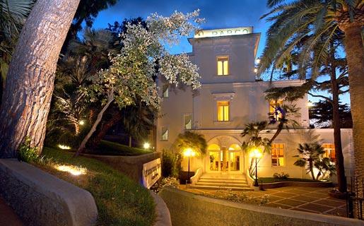 Лучшие отели острова Капри Hotel Excelsior Parco