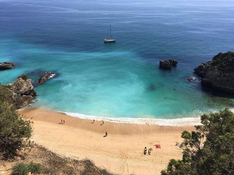 Красивые города Португалии: Серра-де-Аррабида