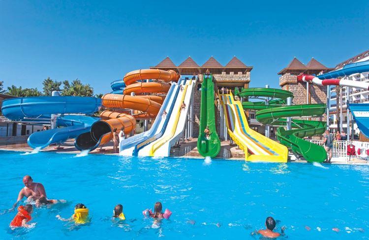 Отель Турции с водными горками Eftalia Splash Resort (Авсаллар/Анталия)
