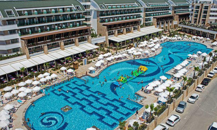 Отель Турции с аквапарком Crystal Waterworld Resort & SPA (5 звёзд)