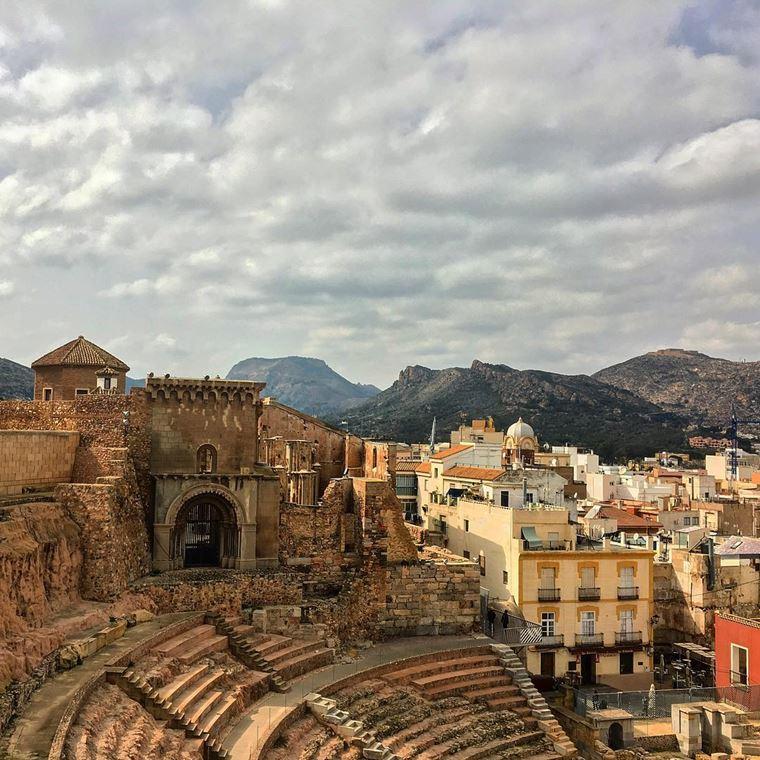Курортные города Испании на побережье Средиземного моря: Картахена