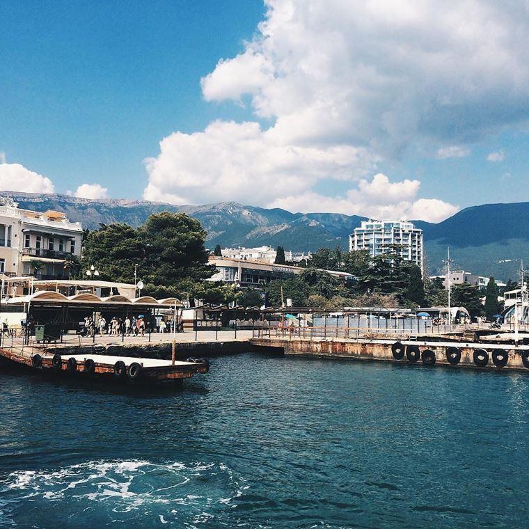 Города-курорты черноморского побережья: Ялта