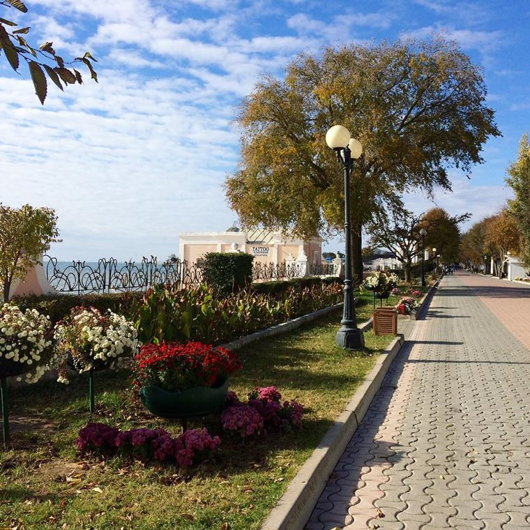 Города-курорты черноморского побережья: Евпатория