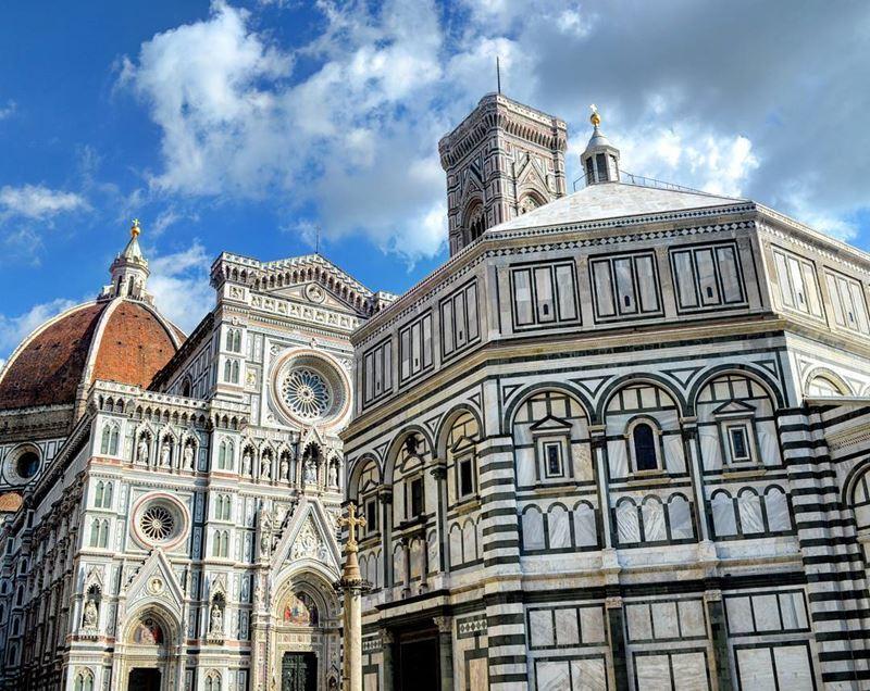 Крупные и красивые города Италии, которые нужно посетить:Ослепительная архитектура Флоренции