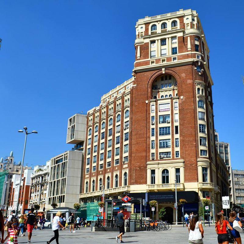 Крупные и красивые города Испании - Мадрид - Пласа дель Калайо