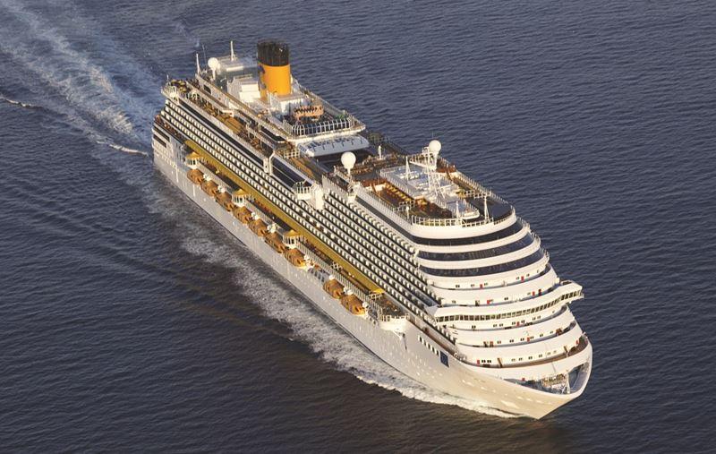Costa Cruises круизные маршруты 2022-2023 - Costa Fortuna