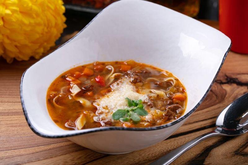 Рецепты вкусных и сытных мясных супов - Чечевичный суп с говядиной