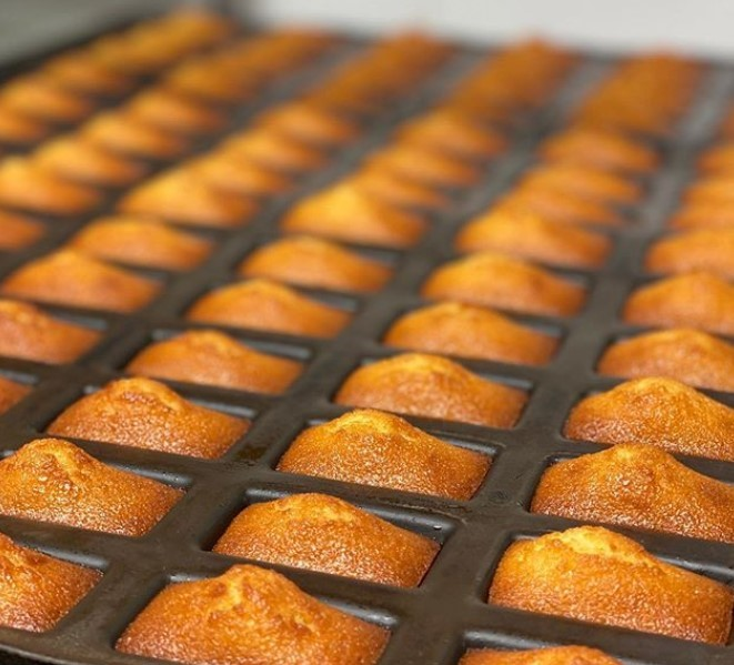 Рецепт французских миндальных кексов финансье от ресторана Fouquet`s
