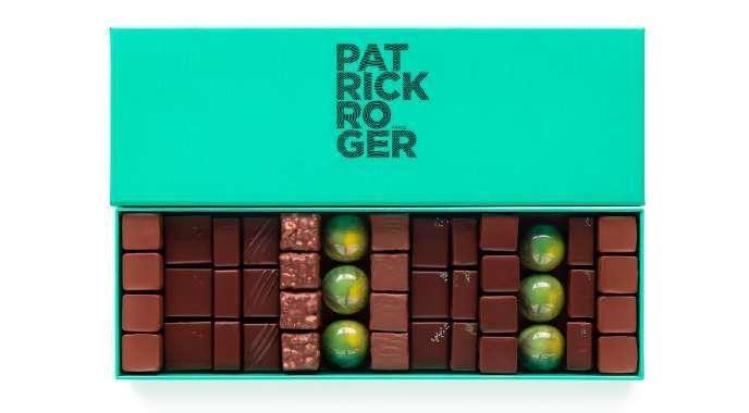 Бутик шоколада Patrick Roger в The Outlet Moscow - коробка