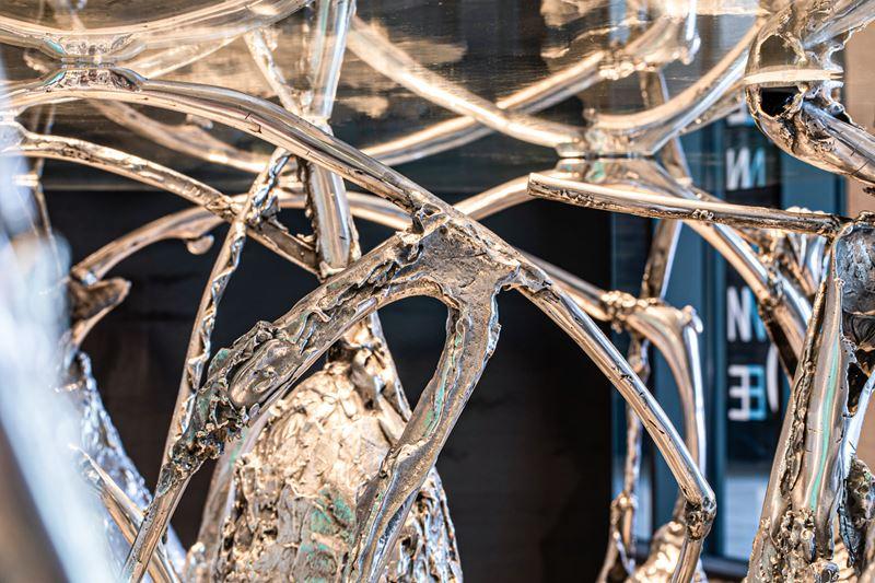 Бутик элитного шоколада Patrick Roger в The Outlet Moscow - скульптура