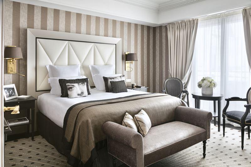 Дизайн интерьера: сьют имени Мишель Морган в Hôtel Barrière Le6 Majestic Cannes - фото