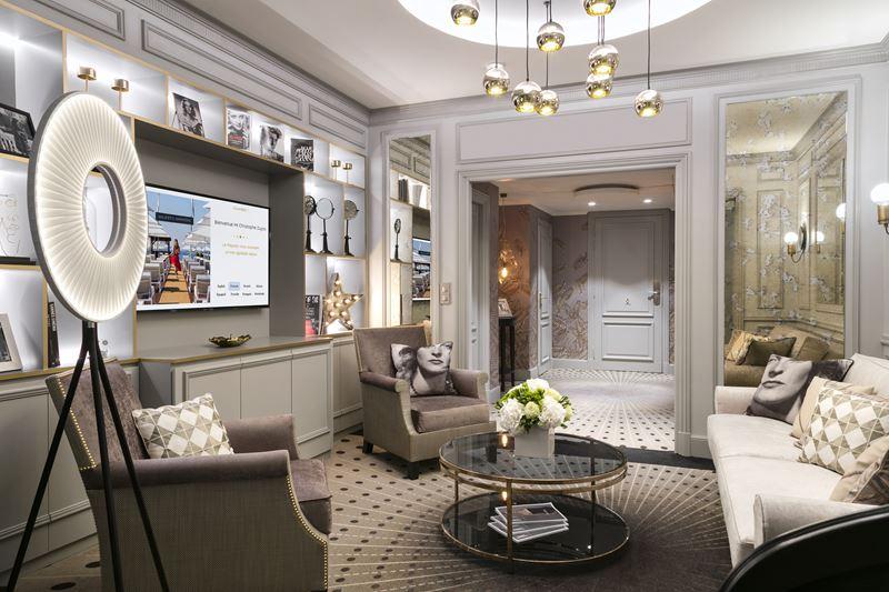 Дизайн интерьера: сьют имени Мишель Морган в Hôtel Barrière Le Majestic Cannes - фото 1