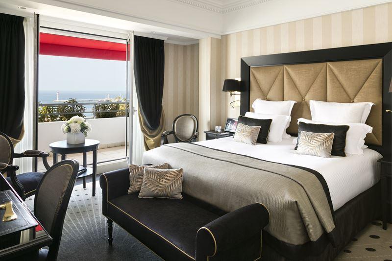 Дизайн интерьера: сьют имени Мишель Морган в Hôtel Barrière Le Majestic Cannes - фото 5