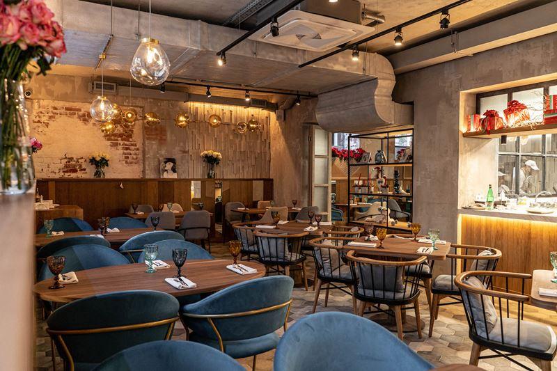 IL Letterato – семейная мини-сеть итальянских тратторий - интерьер ресторана