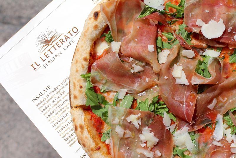 IL Letterato – семейная мини-сеть итальянских тратторий - пицца