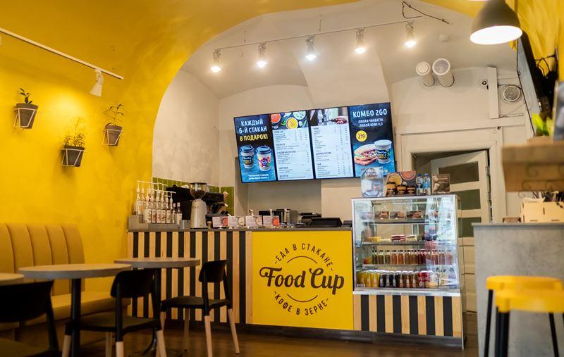 Кафе Food Cup (Санкт-Петербург) - интерьер