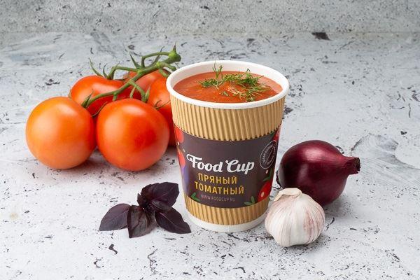 Кафе Food Cup (Санкт-Петербург) - пряный томатный суп