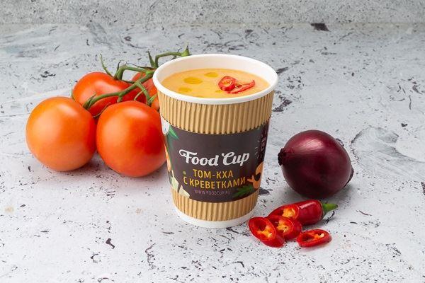 Кафе Food Cup (Санкт-Петербург) - том кха с креветками