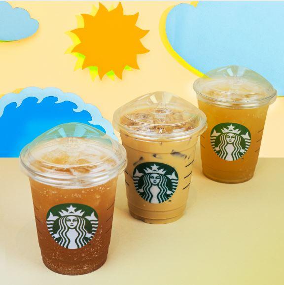 Ещё экологичнее: холодные напитки Starbucks с новыми крышками и без трубочек