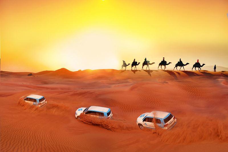 Развлечение №1: cафари в пустыне в Дубае получило премию Tripadvisor