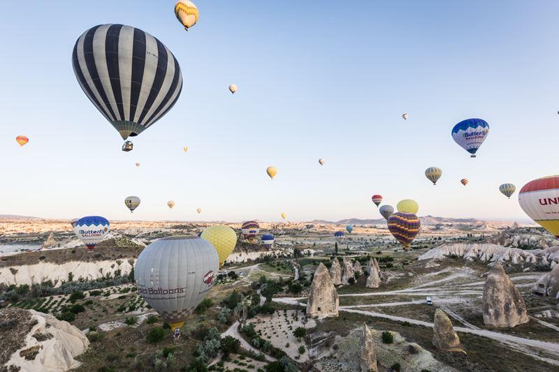 Отель Argos in Cappadocia возобновляет полеты на воздушных шарах