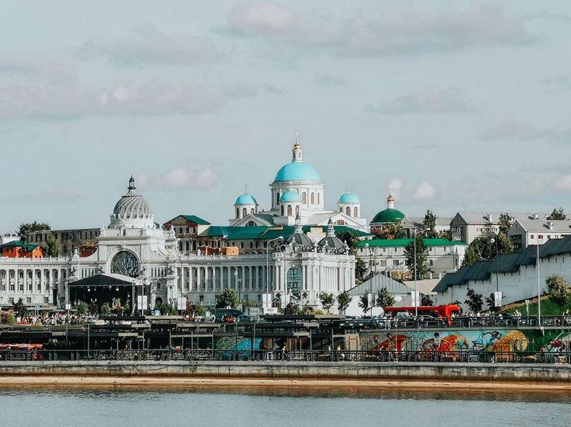 Осень в России: путешествие по Волге - Казань