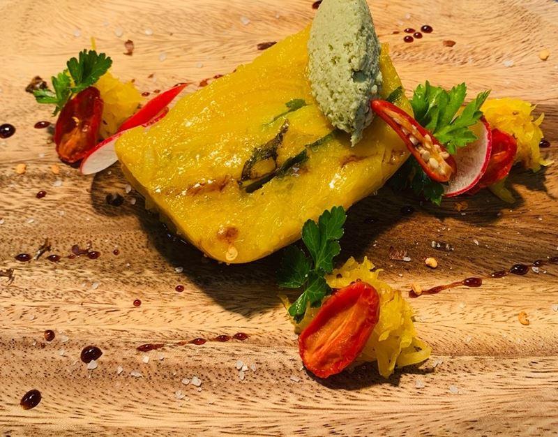 Рецепт тыквы с чатни из кокоса и папайи от шеф-повара отеля Anantara Maia Seychelles Villas