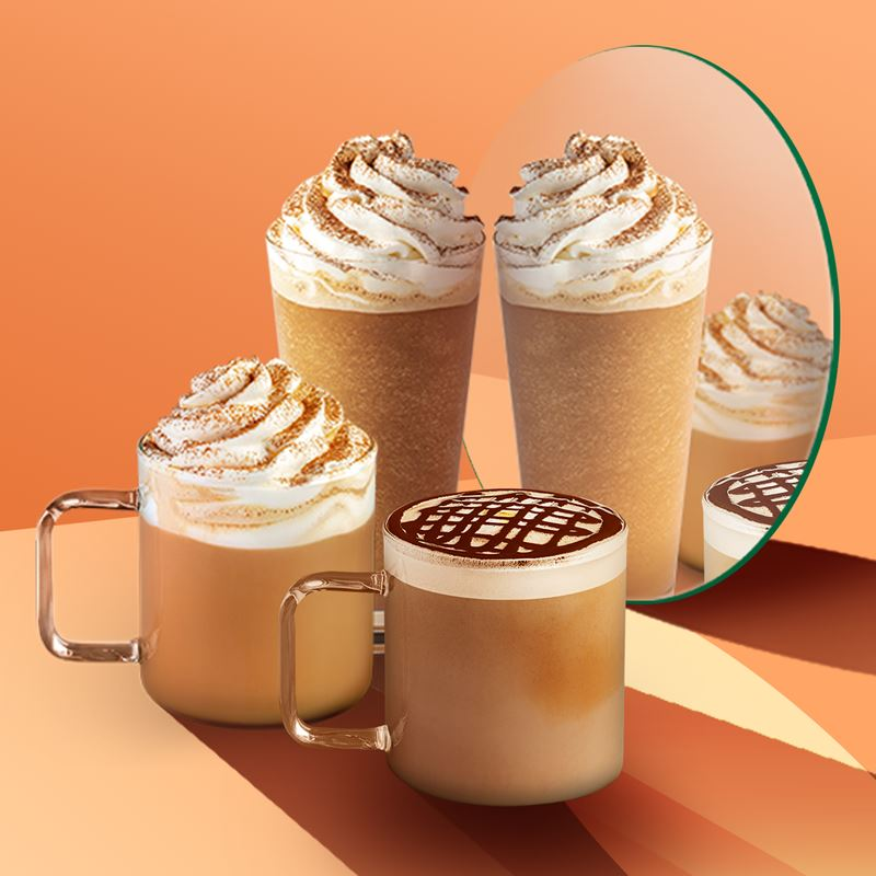 Осень 2020 со Starbucks: Тыквенно-Пряный Латте и Мокка Пралине Маккиато возвращаются