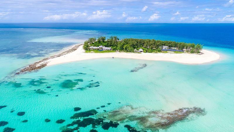 Thanda Island - оазис дикой природы в Индийском океане