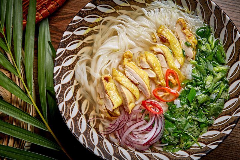 Кафе вьетнамской кухни «Фобия» на Центральном рынке (Москва) - Фо Га с цыплёнком