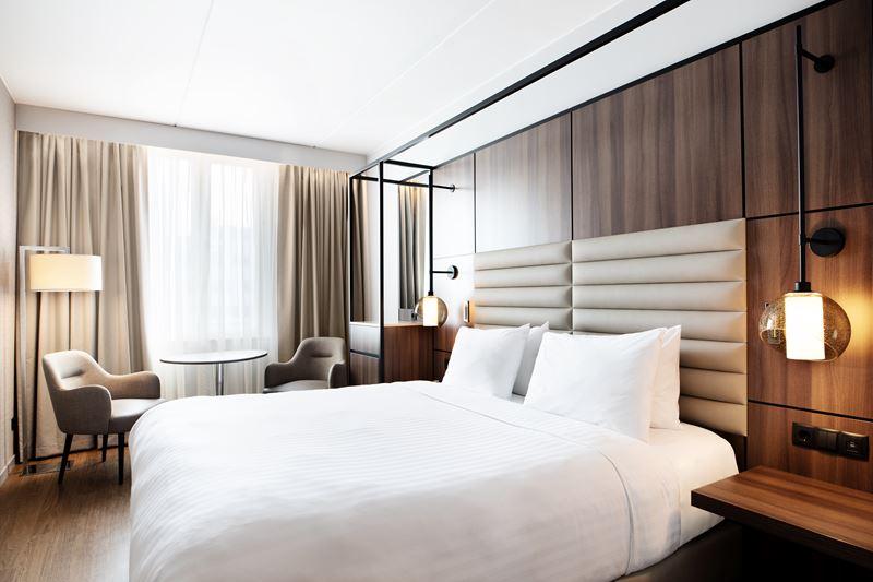 AC Hotel Stockholm Ulriksdal – первый отель бренда в Швеции - интерьер номера