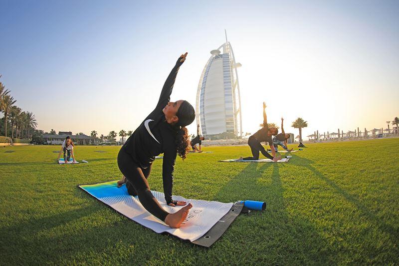 Чем заняться в Дубае в конце 2020 - Dubai Fitness Challenge