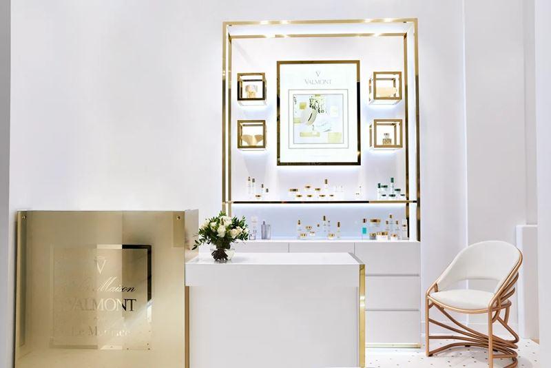 Флагманский магазин швейцарского косметического бренда Valmont открылся в Le Meurice в Париже
