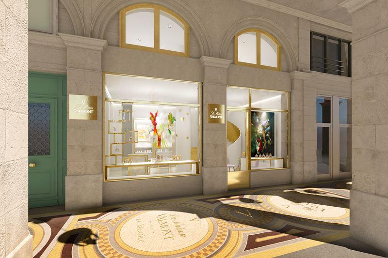 Флагманский магазин швейцарского косметического бренда Valmont открылся в отеле Le Meurice в Париже