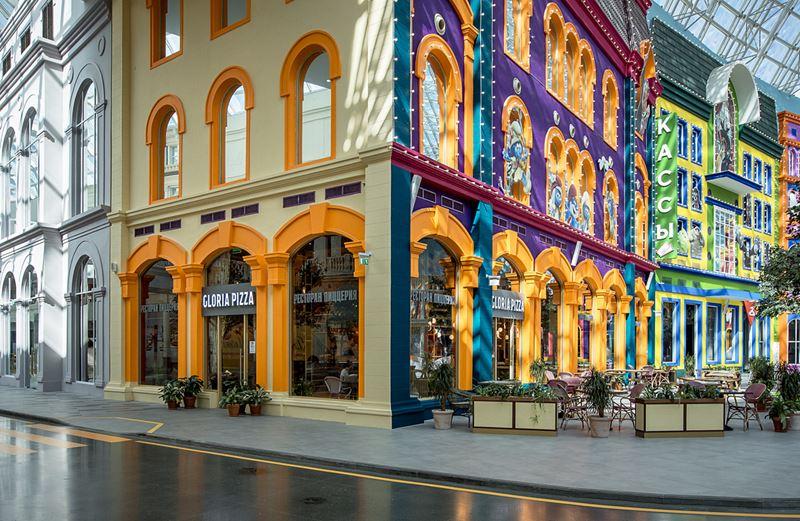 Новое место в Москве: Gloria Pizza – семейный итальянский ресторан на «Острове мечты»