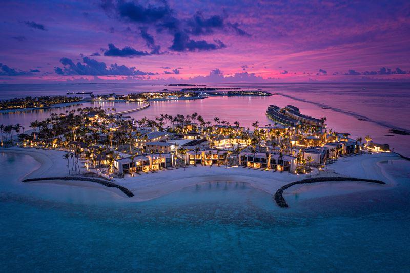 Hard Rock Hotel Maldives назван одним из лучших курортов Индийского океана