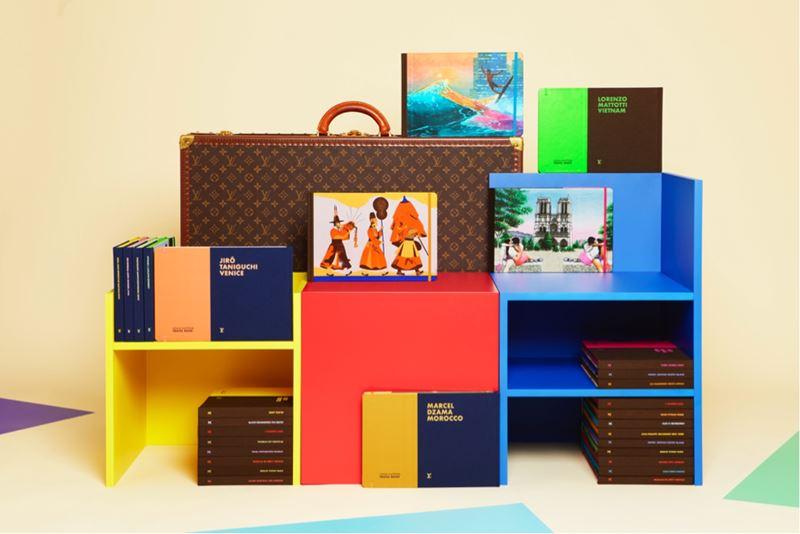 Книжный pop-up бутик Louis Vuitton в отеле Brach Paris - Travel Book