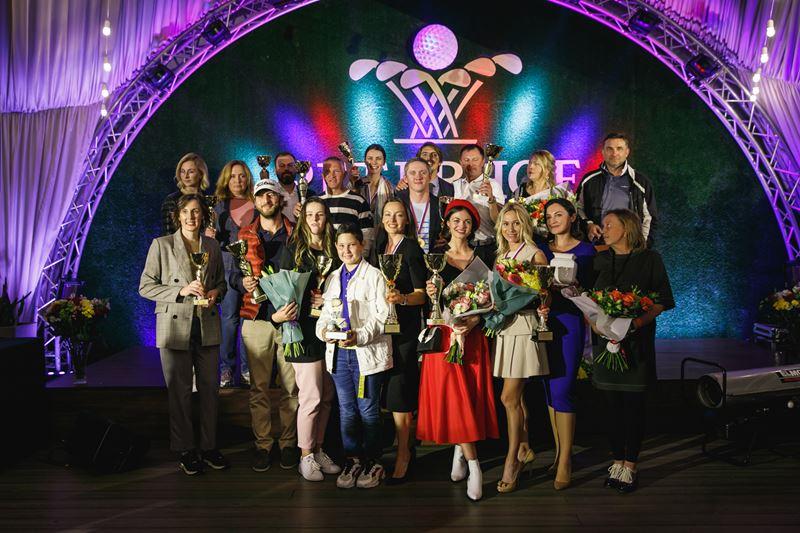 Победители «Кубка Губернатора Санкт-Петербурга» на сцене