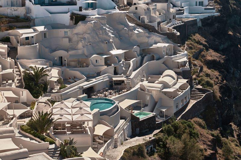 Курортные отели сети Marriott в Греции - Mystique, a Luxury Collection Hotel, Santorini
