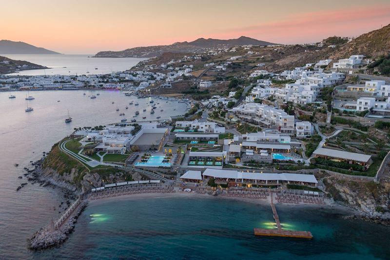Курортные отели сети Marriott в Греции - Santa Marina, a Luxury Collection Resort, Mykonos