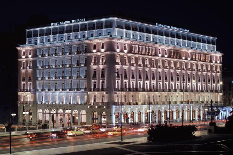 Курортные отели сети Marriott в Греции - The Hotel Grande Bretagne, a Luxury Collection Hotel, Athens