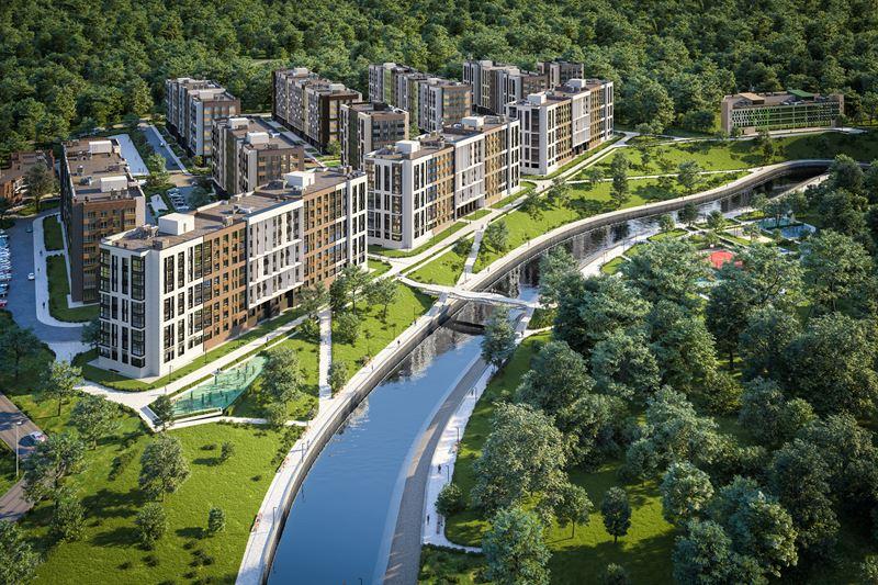 Миниполис Рафинад - лучший строящийся комплекс комфорт-класса Московской области