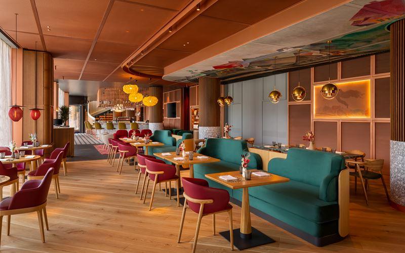 Отель Mövenpick Moscow Taganskaya в Москве - Ресторан и бар SHAGAL