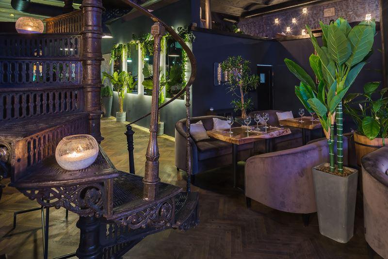Дизайн интерьера ресторана Maer на Саввинской набережной - фото 4