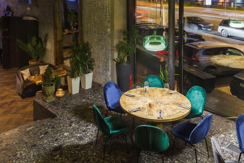 Дизайн интерьера ресторана Maer на Саввинской набережной - фото 3
