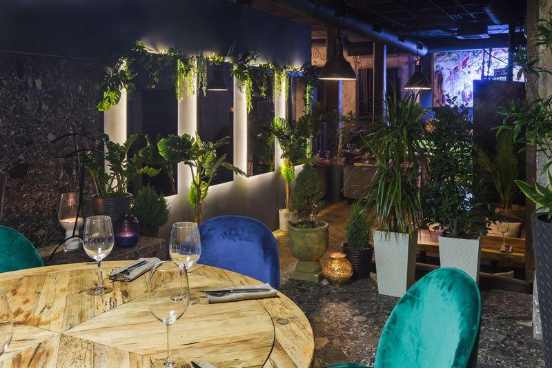 Дизайн интерьера ресторана Maer на Саввинской набережной - фото 2