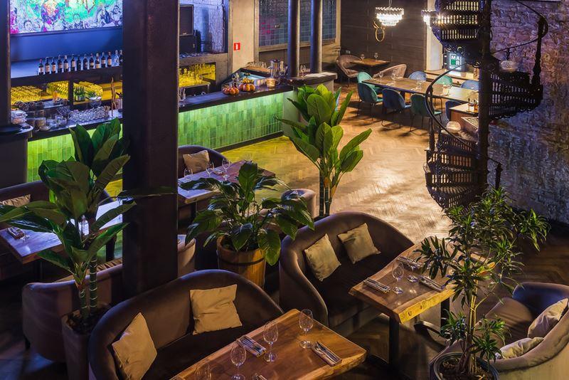 Дизайн интерьера ресторана Maer на Саввинской набережной - фото 1