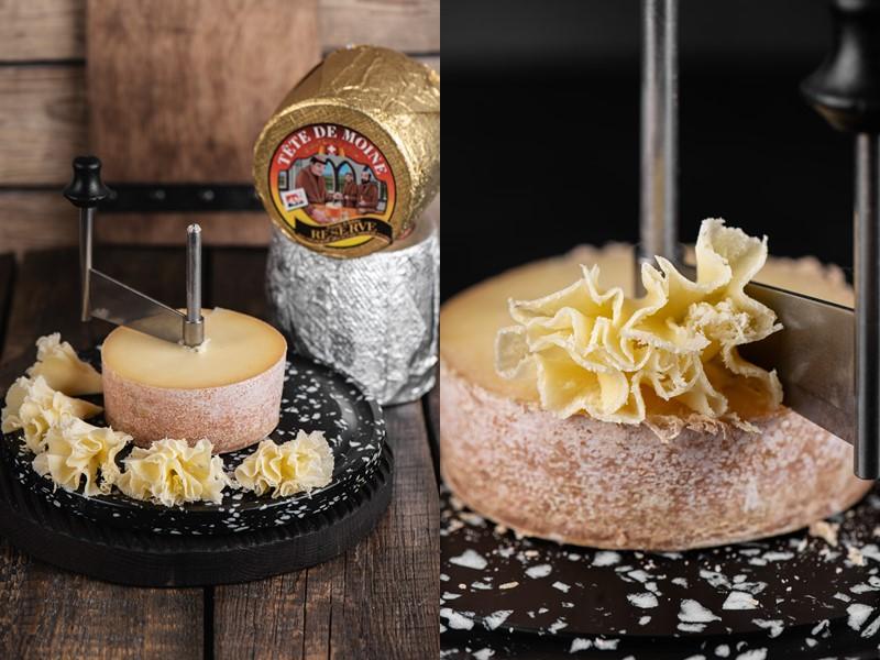 Швейцарский сыр Тет де Муан – нож жироль