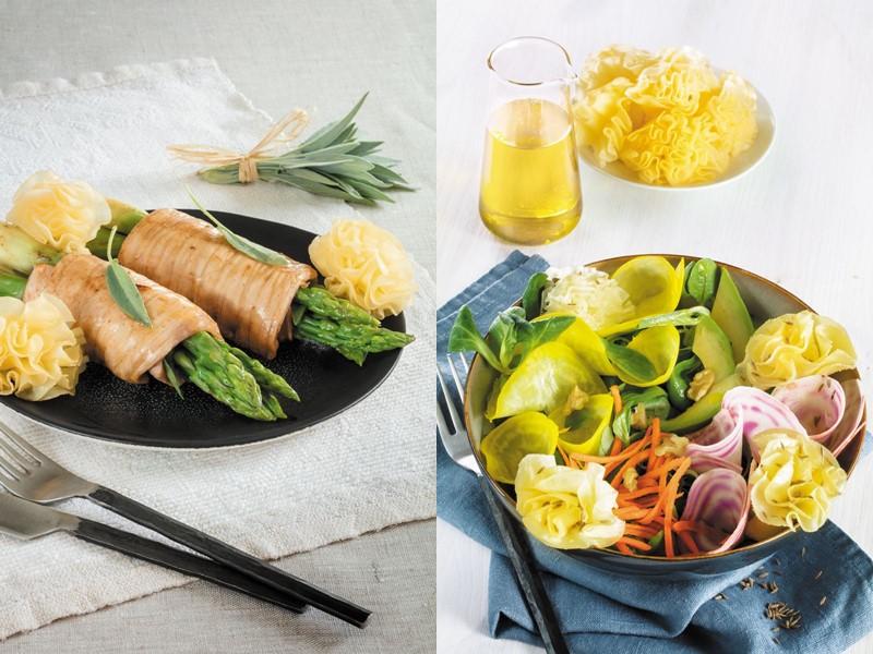 Швейцарский сыр Тет де Муан – с овощами и спаржей