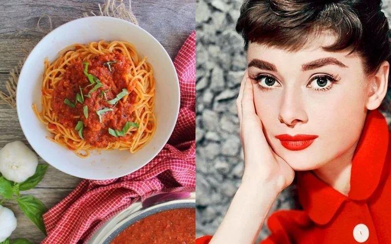 Рецепт спагетти с томатным соусом, которые любила есть (и готовить) Одри Хепберн
